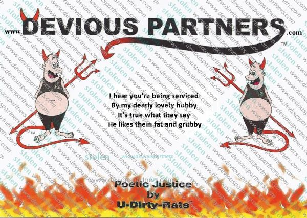 devious partners women,my husband.